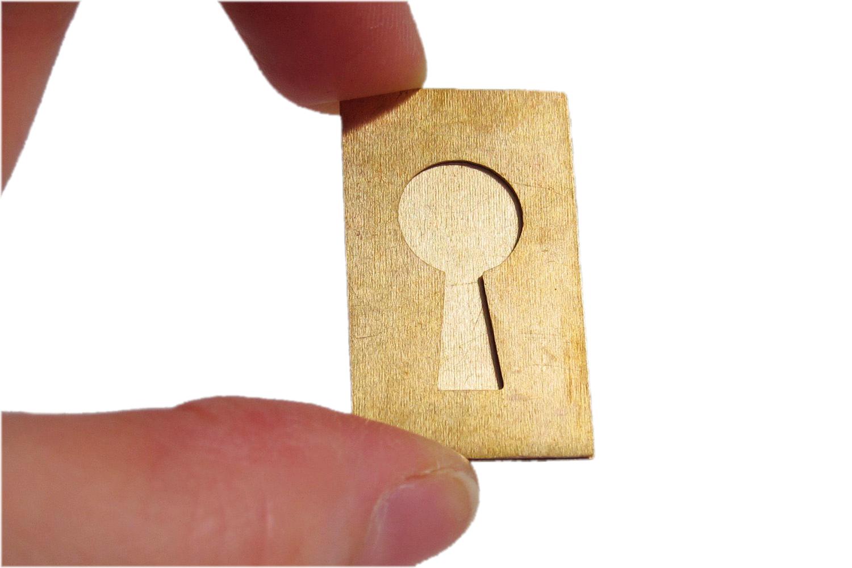 Keyhole Double Blank
